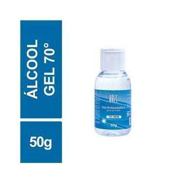 Álcool Gel Antisséptico 70 INPM Haze 50g Frasco