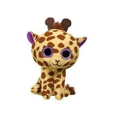 Imagem de Brinquedo Pelucia Ty Coleção Beanie Boo Babies Baby Mc Donalds 9cm (Girafa Twigs)