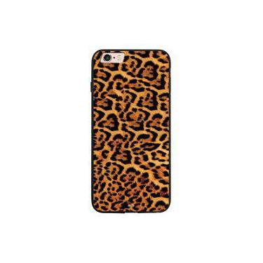 Capa My Capa Preta Apple iPhone 6 6s Animal Print - TX65