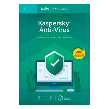 Kaspersky Antivírus 2019 - Licença de 1 ano - para 1 PC - Versão Download