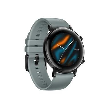 """Smartwatch Huawei Watch GT 2 (42mm) Ciano com Tela Amoled de 1.2"""", GPS, Sensor de Frequência Cardíaca e Resistente à Água"""