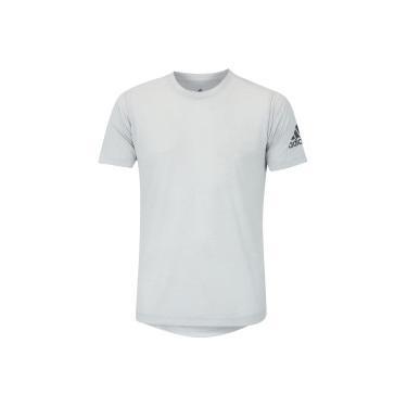 Camiseta adidas FreeLift - Masculina - CINZA CLARO adidas 8a8a2731deb67