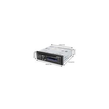 Imagem de Estéreo para carro Bluetooth universal no painel Receptor de rádio para carro din único cd / dvd / vcd Player para carro Placa de áudio U Disk Radio H