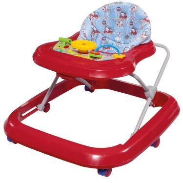 Andador de Bebê Tutti Baby Toy - Vermelho