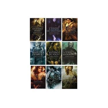 Coleção Completa The Witcher - Capa Tradicional - 8 Livros