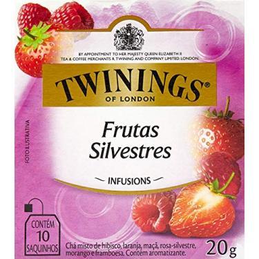 Chá Misto de Frutas Silvestres Twinings com 10 Saquinhos