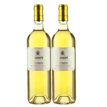 Kit 2X Vinho Branco Francês Sauternes C. Des Comperes 2016