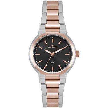 17d4f4a9812 Relógio Feminino Technos Digital 2035Moh 5P Prata Rose