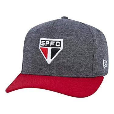 Boné New Era Aba Curva 950 Futebol São Paulo - Cinza