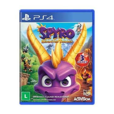 Jogo Spyro Reignited Trilogy - Ps4 Mídia Física