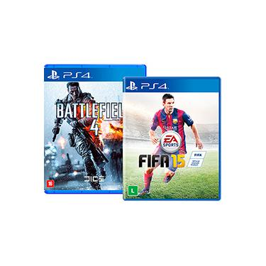 Game FIFA 15 + Battlefield 4 - PS4