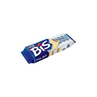 Bis 126gr C/ Cobertura Sabor Chocolate Branco