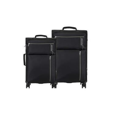 Conjunto de Malas Multilaser Travel Bags 4 Rodas Preto -BO421 Multilaser