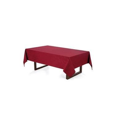 Imagem de Toalha de mesa 8 lugares retangular verissimo vermelha - 1,60 x 2,70m - celebration - karsten
