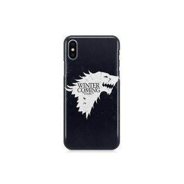 Kit Capa Case TPU iPhone X - Game of Thrones GOT + Pel Vidro (BD01)