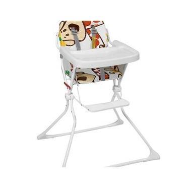 Cadeira Alimentação Bebê Galzerano Alta Standard Girafas