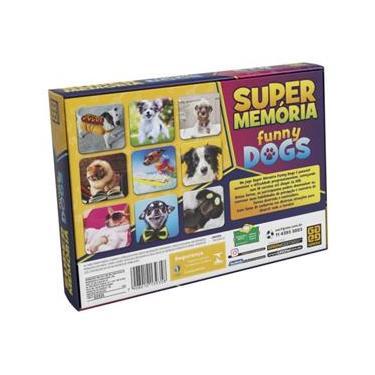 Imagem de Super Memoria Funny Dogs Com 54 Pares Grow