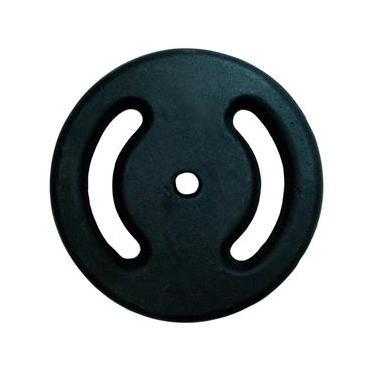 Anilha Ferro 10kg Cor Preta 1166.0610 Polimet