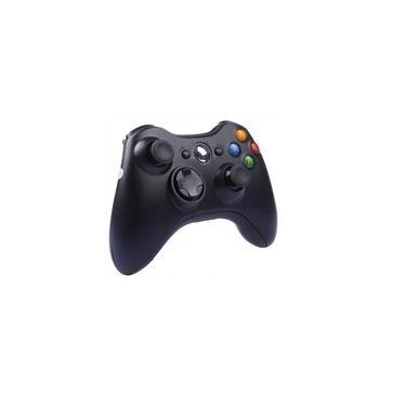 Controle Xbox 360 sem Fio Wireless X360 mobilidade Preto