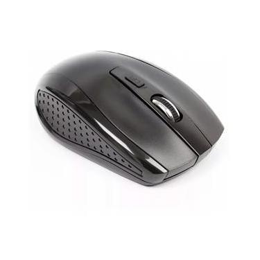 Kit Teclado E Mouse Wireless Pisc 1871 2.4Ghz Usb Preto