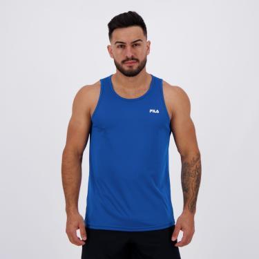 Regata Fila Basic Sports Azul Royal - GG
