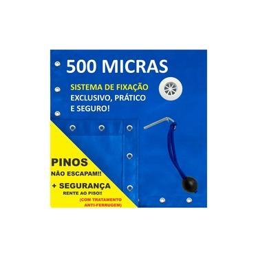 Imagem de Capa De Piscina 5 Em 1 Proteção + Termica 500 Micras - 8x4,5