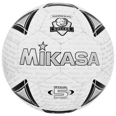 Bola Futebol de Campo SS50 Mikasa - Branco Preto 01f199731ac5a