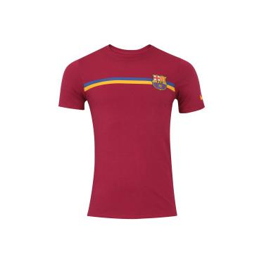 Camiseta Barcelona Crest TEE Nike - Masculina - VINHO Nike e3781611b20fe