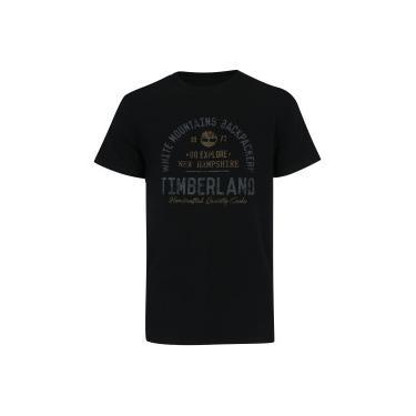 d16b0d5ed9 Camiseta Timberland Backpackers - Masculina - PRETO Timberland