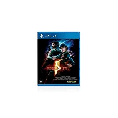 Jogo Game Resident Evil 5 - Ps4