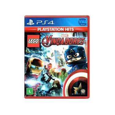 Jogo LEGO Marvel Vingadores - Playstation Hits - PS4