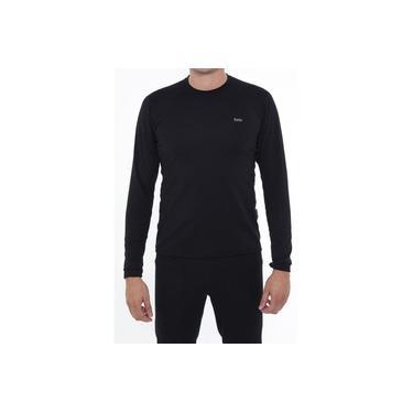 Camiseta Segunda Pele Masculina Solo X-Thermo DS Preta
