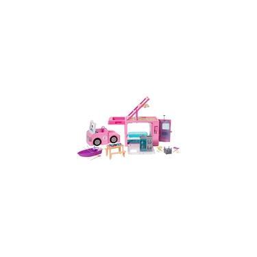 Imagem de Barbie Trailer Acampamento Dos Sonhos 3 Em 1 Ghl93 Mattel