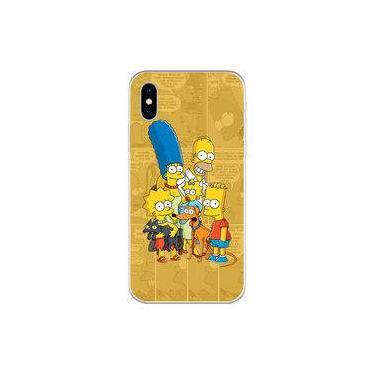 Capa para iPhone X - Mycase | História em Quadrinhos | Simpsons