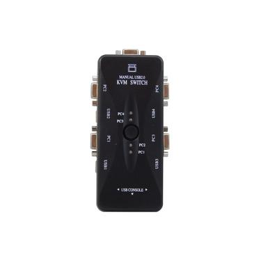 Chaveador Switch KVM 4 Portas USB KVM41UA