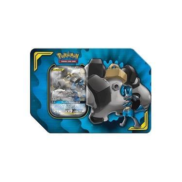 Imagem de Jogo Cartas - Lata Pokémon - Parceria Poderosa - Lucario e Melmetal Gx - Copag