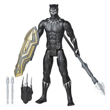 Boneco Pantera Negra Vingadores Titan Hero Lançador -Hasbro