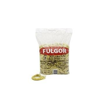Elástico látex especial amarelo n.18 c/ 1100 unidades Fulgor PT 1 UN