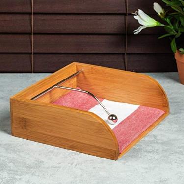 Imagem de Porta Guardanapos em Bambu Press, YOI, 8108010131, 19 X 6 cm Tyft