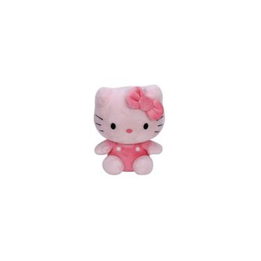 Imagem de Pelúcia Ty Beanie Babies Hello Kitty Rosa - Dtc Super Fofa