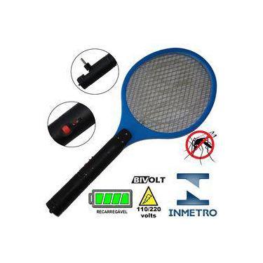 Raquete Mata Mosquito, Mosca E Inseto Elétrica Recarregável
