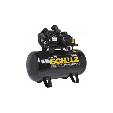 Compressor 10 Pés 100 Litros 140 Libras 2 HP CSV-10/100 PRO SCHULZ -
