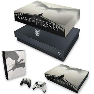 Capa Anti Poeira e Skin para Xbox One X - Game Of Thrones #B