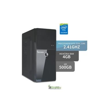 Computador Intel Dual Core 2.41ghz 4gb Hd 500gb 3green Triumph Business Desktop