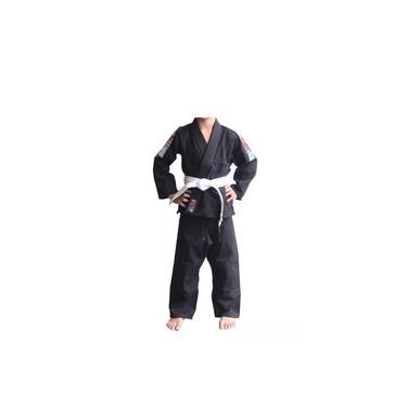 Kimono Naja Infantil Trançado Preto M3