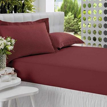 88f4486164 Jogo de Cama All Design Altenburg Casal Vermelho 3 Peças