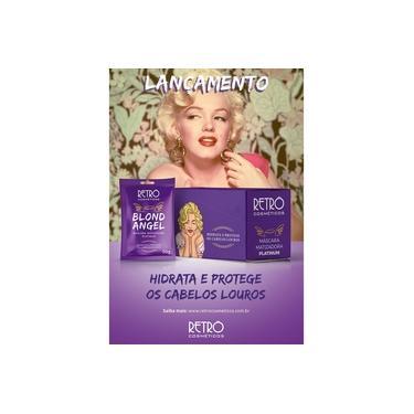 Blond Angel Máscara Matizadora Platinum Retrô Cosméticos 1 Sache 30 Gr