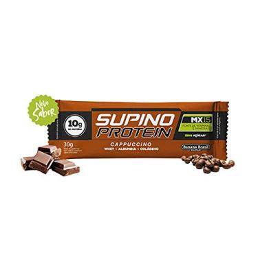 Supino Protein Cappuccino Whey + Albumina + Colágeno 30g Banana Brasil