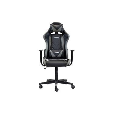 Cadeira Gamer Racer X Reclinável Cinza