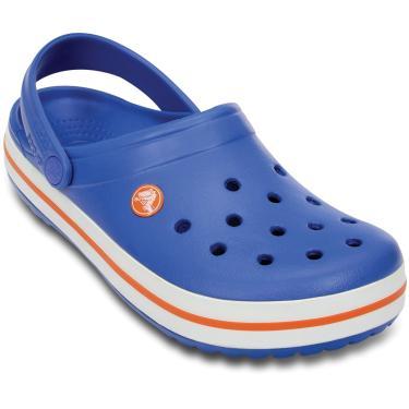 Sandália Crocs Crocband Kids Azul  menino